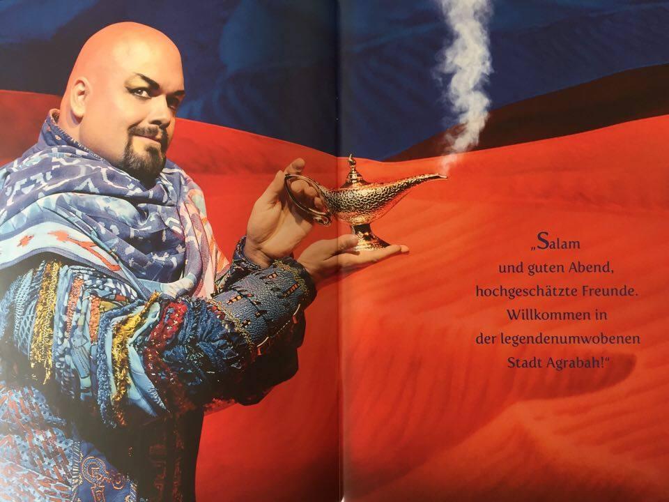 Musicalbuch Aladdin St.Pauli