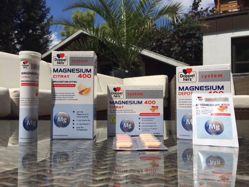 Magnesium Produkttest Doppelherz