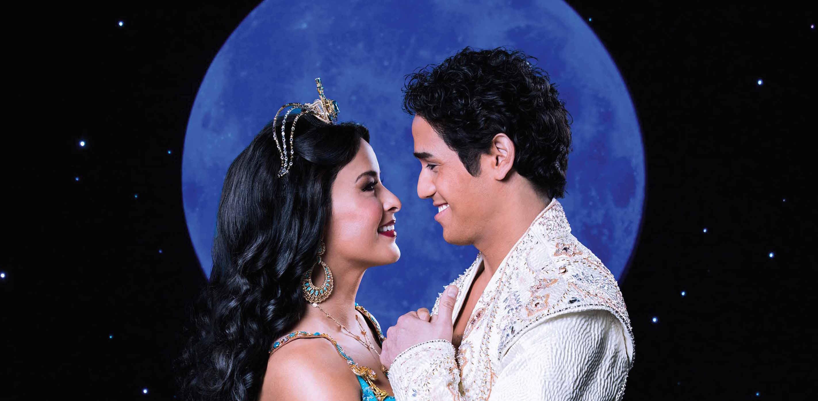 Musical Aladdin Hamburg-Neue-Flora Prinzessin Jasmin