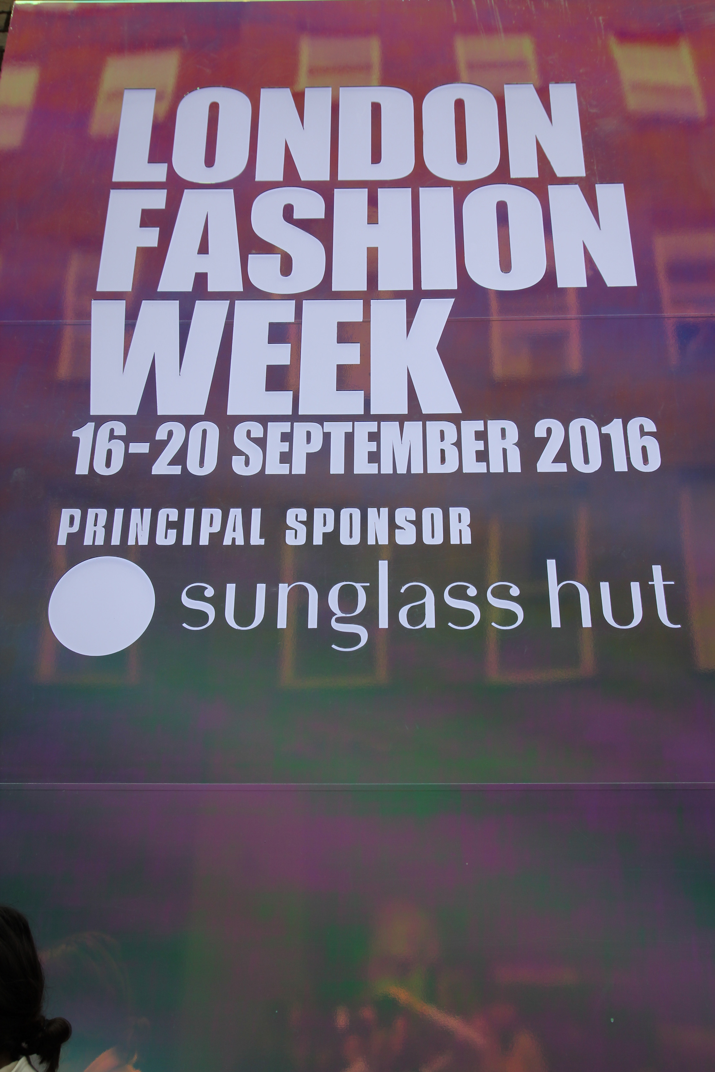 London fashion week with leslie huhn