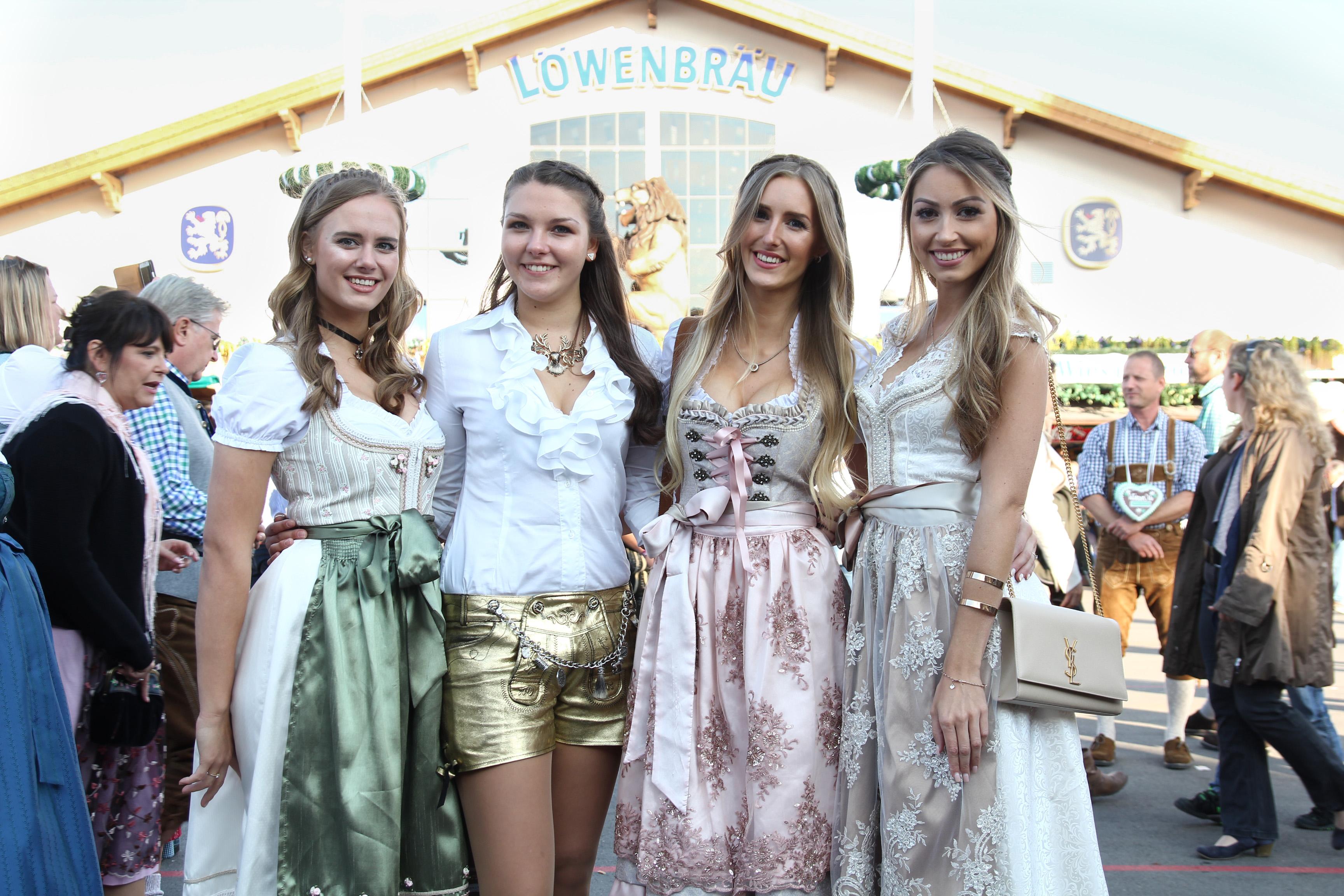 Oktoberfest München Mädels