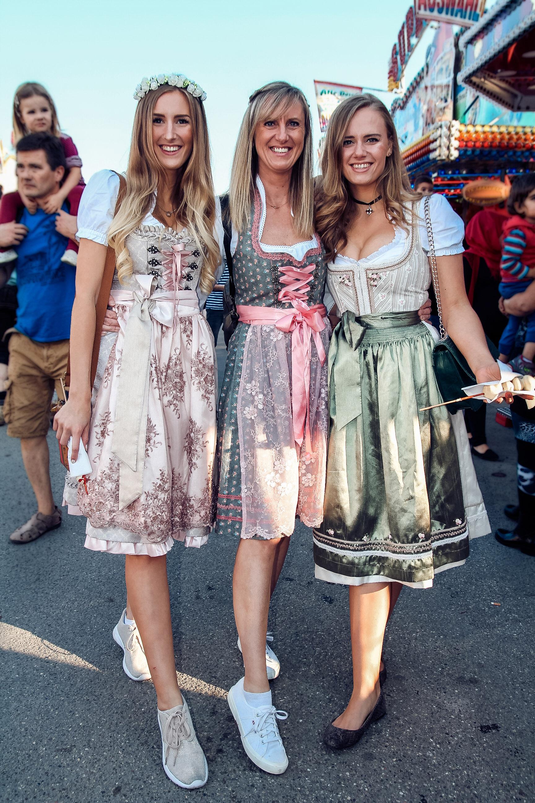 Dirndl Trends Oktoberfest Wiesn und Cannstatter Wasn 2016 / 2017