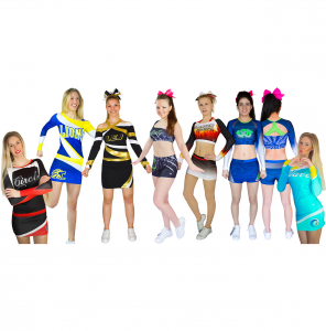 Sublimation, Flex, Mix Cheerwear